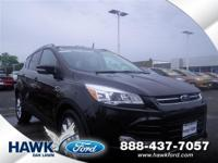 Certified. Tuxedo Black 2014 Ford Escape Titanium FWD