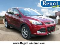 Red 2014 Ford Escape Titanium FWD 6-Speed Automatic