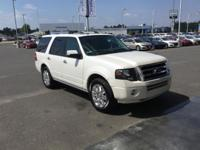 CARFAX One-Owner. White 2014 Ford Expedition Limited