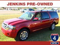 LOW MILES, This 2014 Ford Expedition EL Limited will