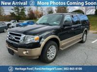 Black 2014 Ford Expedition EL XLT 4WD 6-Speed Automatic