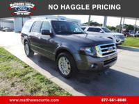 This 2014 Ford Expedition Limited in Gray features: