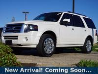 2014 Ford Expedition Limited in White Platinum Metallic