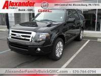Black 2014 Ford Expedition Limited 4WD 6-Speed