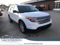 2014 Ford AWD Explorer White 6-Speed Automatic with