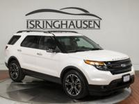 This very nice 2014 Ford Explorer Sport comes loaded as