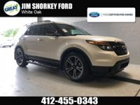 Recent Arrival! Certified. 2014 Ford Explorer Sport