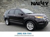 Brown 2014 Ford Explorer XLT AWD 6-Speed Automatic with