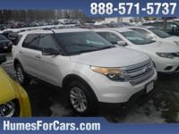 Checkout this Humes 2014 Oxford White Ford Explorer XLT