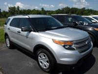 Options:  2014 Ford Explorer Base|Silver/|V6 3.5 L