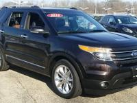 2014 Ford Explorer Limited CARFAX One-Owner. Clean