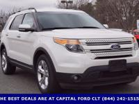 2014 Ford Explorer, CLEAN CARFAX, ONE OWNER, SUNROOF /