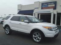 Recent Arrival! Clean CARFAX.2014 Ford Explorer Limited