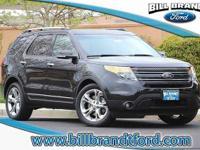Options:  2014 Ford Explorer Limited 4D Sport