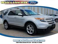 Clean CARFAX. 2014 Ford Explorer Limited 3.5L