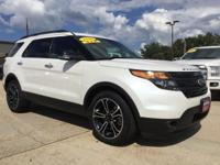 Check out this gently-used 2014 Ford Explorer we