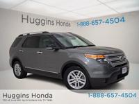 2014 Ford Explorer Dark Side Metallic XLT CARFAX