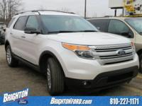 AWD. Clean CARFAX. 2014 Ford Explorer XLT AWD 6-Speed