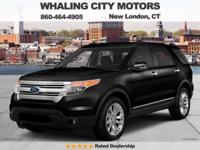 AWD! Don't let the miles fool you! 2014 Ford Explorer.