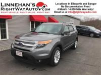 This 2014 Explorer XLT is a one owner Trade! It comes