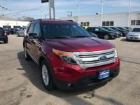 Explorer XLT, AWD, and Ruby Red Metallic Tinted