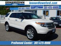 Loaded 2014 Explorer 4 Wheel Drive Has all the