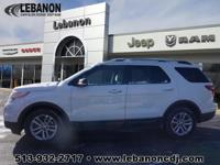 CARFAX One-Owner. 2014 Ford Explorer XLT FWD 6-Speed