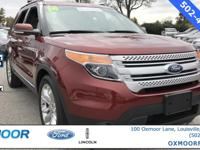 2014 Ford Explorer FORD CERTIFIED!! NEW AIR FILTER