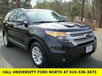 CARFAX One-Owner. 2014 Ford Explorer XLT Dark Side 3.5L