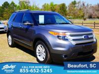 2014 Ford Explorer in Black. Low miles mean barely