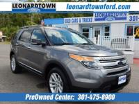 Great Value on This 2014 Explorer XLT w/ Beautiful
