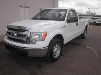 2D Standard Cab, 5.0L V8 FFV, RWD, Oxford White, and