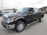 This 2014 Ford F-150 4dr 4WD SuperCrew 145 XLT 4x4