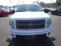 Options:  2014 Ford F-150 C|White/White|V8 5.0 L