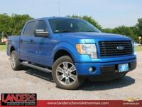 CARFAX One-Owner. Blue Flame Metallic 2014 Ford F-150