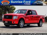 This sharp 2014 Ford F-150 STX SuperCrew 4X2 shown in