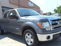 Sterling Gray Metallic exterior, XLT trim. CARFAX