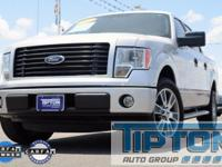 2014 Ford F-150 in Silver exterior and Black Cloth,