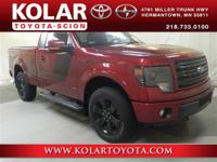 2014 Ford F-150 FX44WD, ONE Owner Per AUTO CHECK