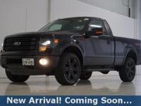 2014 Ford F-150 FX4 in Tuxedo Black Metallic, 4WD, This