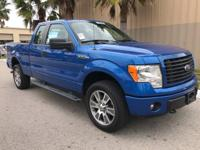 This 2014 Ford F-150 4WD SuperCab 145 STX is offered to