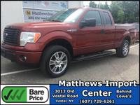 Sunset Metallic 2014 Ford F-150 4WD 6-Speed Automatic
