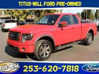 Race Red 2014 Ford F-150 FX4 4WD 6-Speed Automatic
