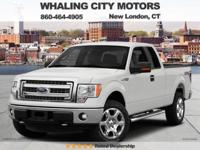 4WD! Extended Cab! 2014 Ford F-150. F-150's are built
