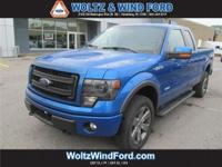 4WD SuperCab 145 FX4 - ECOBOOST - POWER MOONROOF -