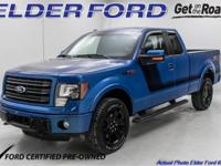 New Price! Certified. Clean CARFAX. 2014 Ford F-150 FX4