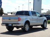 This 2014 Ford F-150 Platinum in Silver features: Power