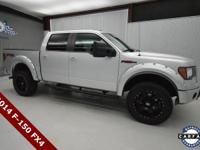 Clean CARFAX. Silver 2014 Ford F-150 FX4 4WD SuperCrew