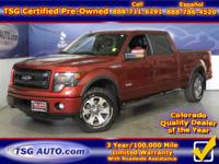 **** FRESH IN FOLKS! THIS 2014 FORD F-150 LARIAT SUPER
