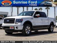 Our 2014 Ford F-150 FX4 SuperCrew 4x4 is proudly